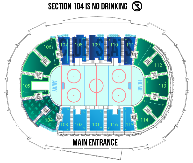 Save On Foods Memorial Arena Seating