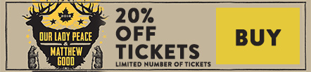 Limited number of P3 ticktes now 20% off
